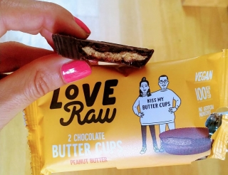 LoveRaw Peanut Butter Cups RAW BIO
